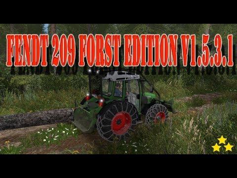Fendt 209 Forst Edition v1.5.3.1