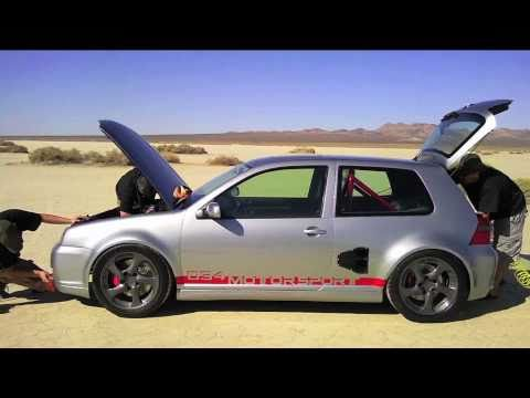 VW GTI with 800hp mid-engine V6 turbo