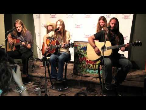 Blackberry Smoke Performs in KAT 103 Listener Lounge