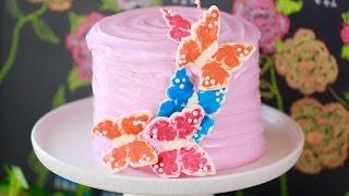 White Velvet Cake with Strawberry Buttercream Frosting - Gemma's Bigger Bolder Baking Ep 133 by Gemma's Bigger Bolder Baking