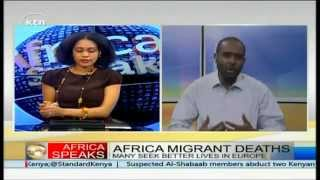 AFRICA SPEAKS 25th April 2015: Relocation of Dadaab Refugee Camp from Kenya
