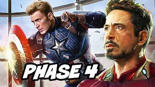 Avengers Endgame Scene and The Future of Captain America - Marvel Phase 4