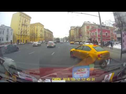 ДТП в Москве на Садовом Кольце