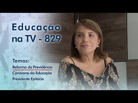 Reforma da Previdência / Caravana da Educação Presidente Epitácio