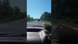 Frontális ütközés Zámolynál - Csoda, hogy túlélte az autós