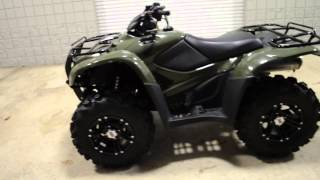 8. 2014 Rancher AT ITP Wheels   Tires   Power Steering 4x4 ATV    Honda of Chattanooga TN TRX420FPA