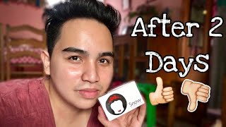 SNOW SKIN WHITENING SOAP 2 Days After   Review from Davao