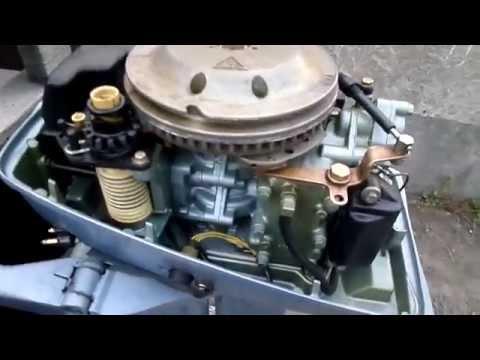 лодочный мотор не держит холостого хода