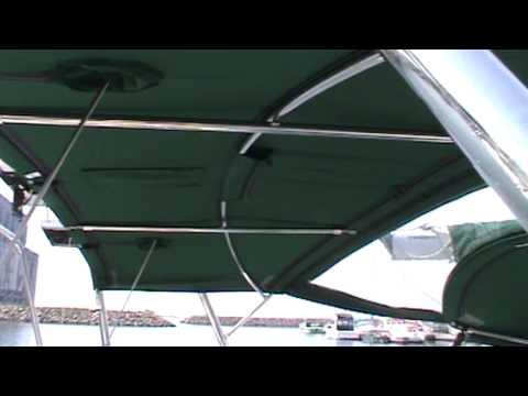Sportech Sails Beneteau Oceanis 440 Custom Cantilevered Dodger