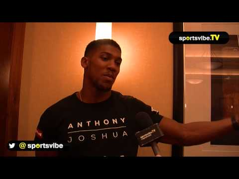 Anthony Joshua Interview - Facing Denis Bakhtov