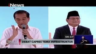 "Video Prabowo Sebut Pembangunan Infrastruktur ""Grasak-grusuk"", Ini Balasan Jokowi - Pemilu Rakyat 17/02 MP3, 3GP, MP4, WEBM, AVI, FLV Februari 2019"