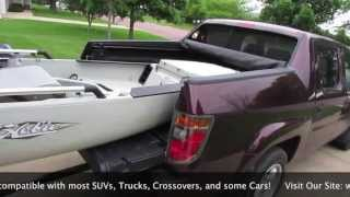 9. How to Transport Large Kayaks Short Bed Truck, SUV and some Cars using hitch extender!
