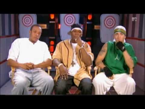 Eminem 50 Cent Dr. Dre Interview 2002