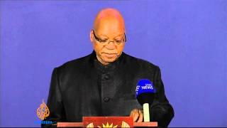 South African president announces passing of Nelson Mandela