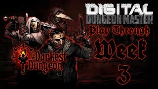 "The Darkest Dungeon Complete Play through -- ""Exploring The Ruins Again"" Week 3 Game TimeI have absolutely fallen in love with the Darkest Dungeon after only playing it a few times on the Twitch channel. I am starting this game on Radiant (Easy) mode and will play the entire game from start to finish and then start another game on a harder difficulty.Players Wanted!https://www.patreon.com/digitaldungeonmasterWatch my live games on Twitch.www.twitch.tv/TheDigitalDMThe Tip Jarhttps://twitch.streamlabs.com/thedigitaldmAmazon Affiliate Linkhttp://www.amazon.com?_encoding=UTF8&tag=tabltopp09-20Check out my website!http://www.digitaldungeonmaster.com/Listen to all of my podcast!http://digitaldungeonmaster.podbean.com/Need PDF's from DriveThruRPG?http://www.drivethrurpg.com/index.php?affiliate_id=502585Need any video games up to 80% off?https://www.g2a.com/r/table_toppingNeed a D&D 5e PDF Character Sheet? Choose from over 1200+!!http://www.digitaldungeonmaster.com/dd-5e-character-sheets.htmlContact Me!http://www.digitaldungeonmaster.com/contact-me.htmlTake a Chance Kevin MacLeod (incompetech.com)Licensed under Creative Commons: By Attribution 3.0 Licensehttp://creativecommons.org/licenses/by/3.0/"