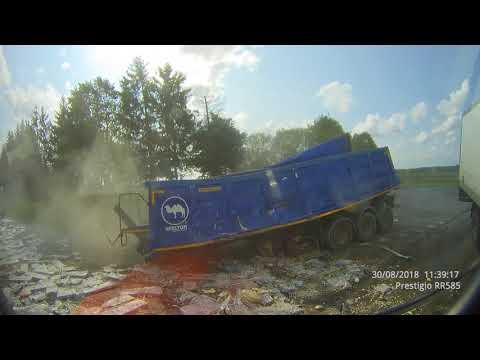 Авария на трассе Калининград - Черняховск