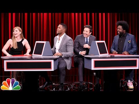 Tonight Show Pyramid with Bryce Dallas Howard and Michael