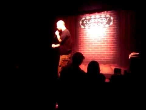 Darren Carter at Flappers Comedy Club