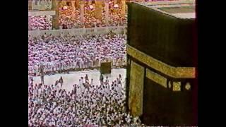 آخر الأحزاب - تراويح 1407هـ الشيخ علي جابر Ali Jaber
