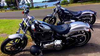 7. Harley Davidson FXSB Breakout Softail