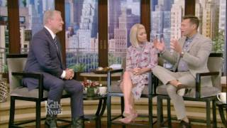 Al Gore tells Kelly & Ryan what he says to climate change deniers.
