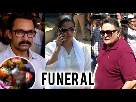Reema Lagoo Funeral, FINAL JOUNNEY | Aamir Khan, K