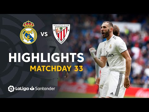 Highlights Real Madrid Vs Athletic Club (3-0)