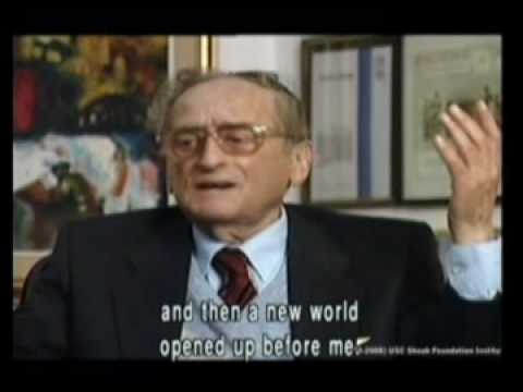 Asaria - Holocaust survivor Rabbi Dr. Zvi Asaria-Hermann Helfgott describes his vision of man after the Holocaust For more details, click here: http://www1.yadvashem....