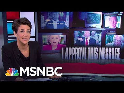 Best Campaign Ads Tell Story Of US Politics | Rachel Maddow | MSNBC