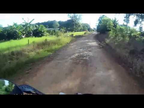 Estrada beira rio Mondai - SC