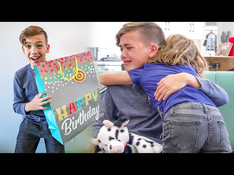 WE totally Surprised him for his BIRTHDAY! Shae's turns 14!