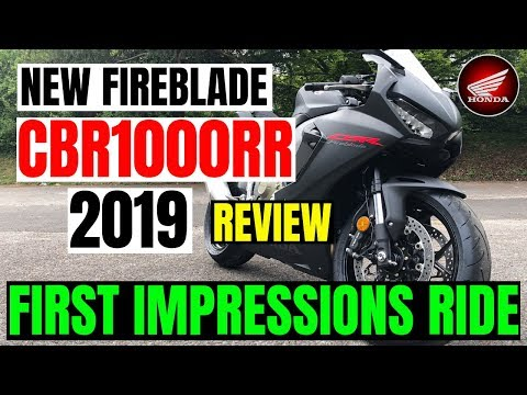 Honda CBR1000RR | 2019 | FIREBLADE | REVIEW | First Impression