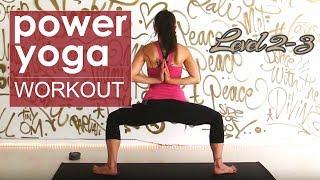 Video Heart Opening Power Yoga Class ~ Level 2/3 MP3, 3GP, MP4, WEBM, AVI, FLV Maret 2018