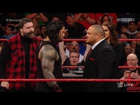 ROMAN VS SAMOA JOE WWE RAW 3/2/17 Full Show–This Week Monday Night Raw March 2nd 2017