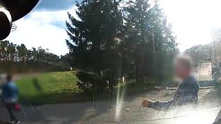 Wstrząsające nagranie potrącenia rowerzystki. Pijany sprawca aresztowany…