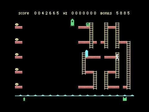 Space Walk (1986, MSX, S.V.L. Software)
