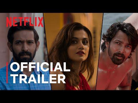 Haseen Dillruba   Official Trailer   Taapsee Pannu, Vikrant Massey, Harshvardhan Rane  Netflix India