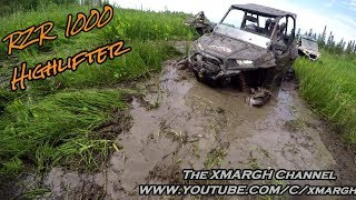 7. RZR 1000 Highlifter In Deep Mud! Making It Rain!