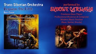 Simone Carnaghi performing Trans Siberian Orchestra - Requiem the fifth