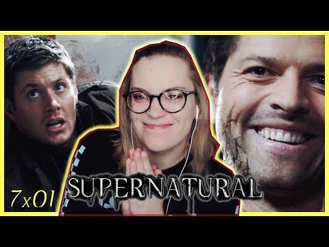 "Supernatural Season 7 Episode 1 ""Meet the New Boss"" REACTION! (Season Premiere)"