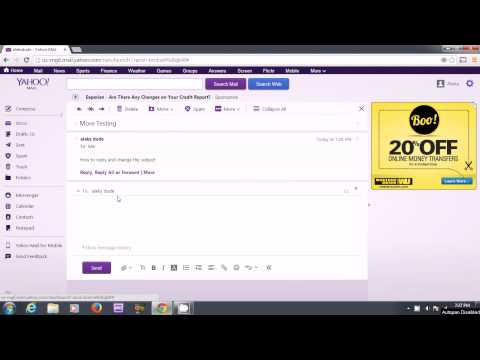 "How to edit the ""Subject"" Header in the new Yahoo Mail when replying to an E-Mail"