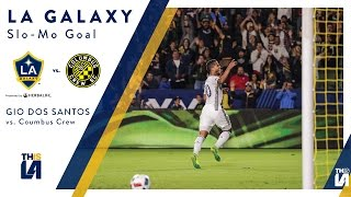 Watch Gio's amazing chip in slow motion in LA Galaxy's 2-1 win over Columbus Crew. Want to see more from the LA Galaxy?