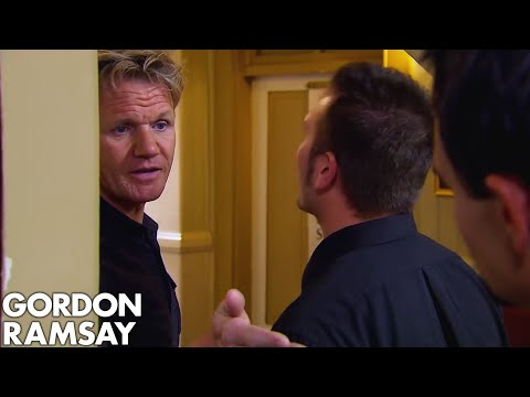 Chef Ramsay's Drunken Argument with Hotel Owner | Hotel Hell