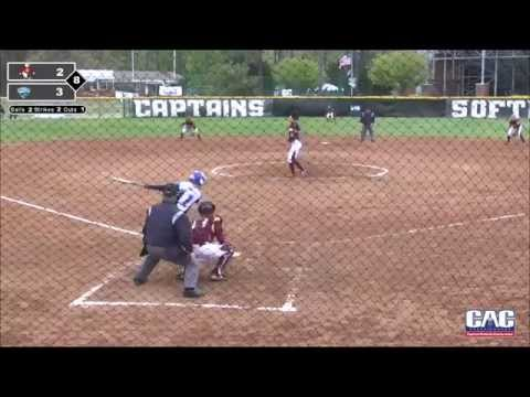 CAC SOFTBALL CHAMPIONSHIP: Taylor Dillow's two-run walk-off home run