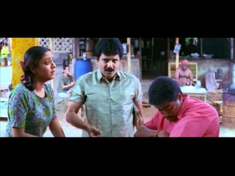 Perazhagan - Surya tests Jyothika's blindness