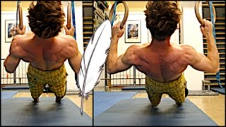 Ring Session for Softies : Core and Upper Body Strength for Climbing   Best Beginner Exercises ! by Mani the Monkey