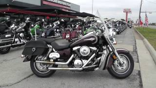 6. 017010 - 2005 Kawasaki Vulcan Classic   VN1600A - Used motorcycles for sale