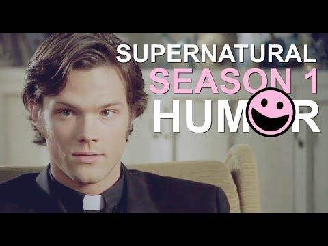 supernatural ● just tone it down a little bit, father [season1.humor]