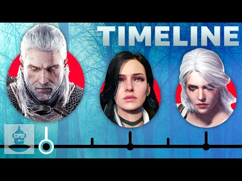 The Witcher Game Series Timeline   The Leaderboard