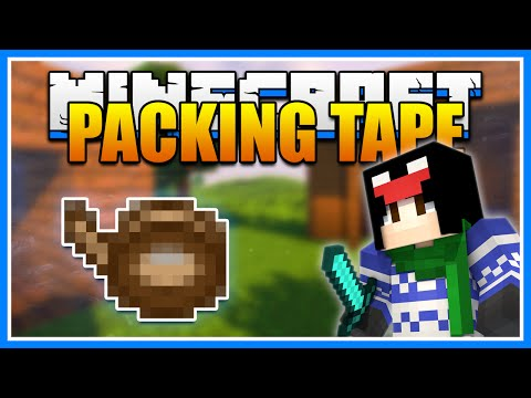 Minecraft PACKING TAPE Mod Showcase! Move Chests, Machines, and More! (Minecraft 1.9.4 Mod Tutorial)